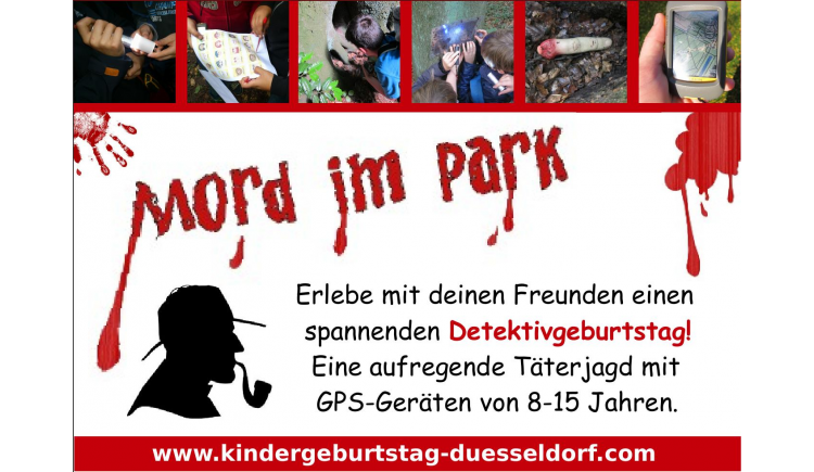 spannender detektiv kindergeburtstag in d sseldorf. Black Bedroom Furniture Sets. Home Design Ideas