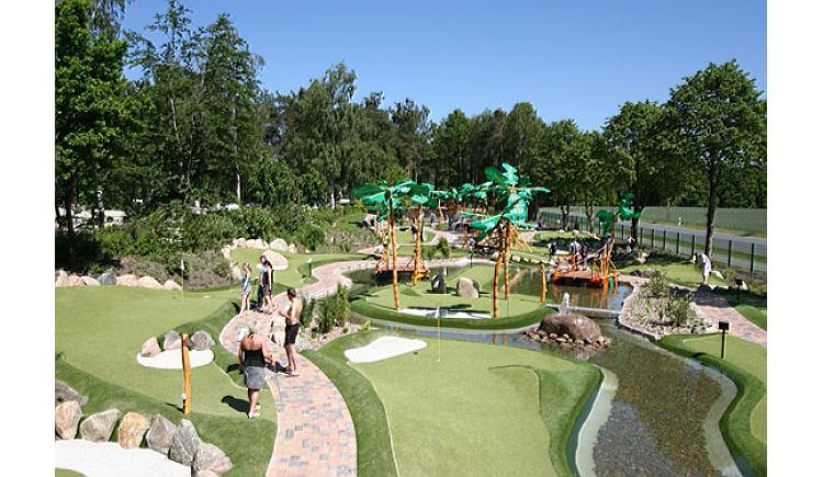 Adventure Dschungel Golfplatz