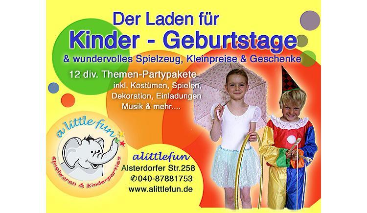 Kinderparty Hamburg