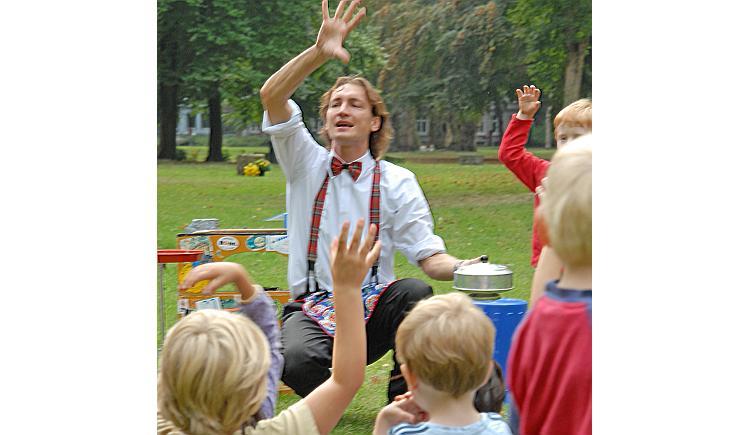 Kindergeburtstag Zauberer