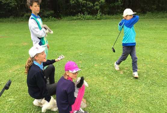 Golfsport bringt viele Vorteile für Kinder mit sich