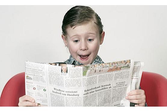 Eine Zeitung mit Kindern gestalten