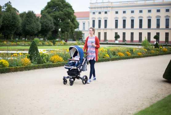 Auf Reisen mit dem Kinderwagen
