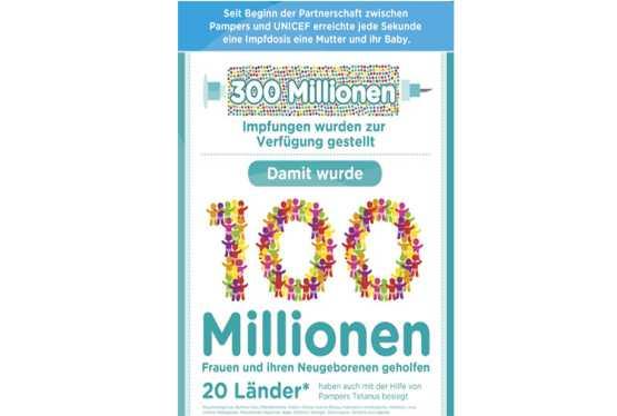 Sponsored: Pampers und UNICEF gegen Tetanus