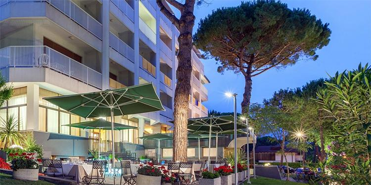 Hotel für Familien; das Hotel President in Lignano Sabbiadoro