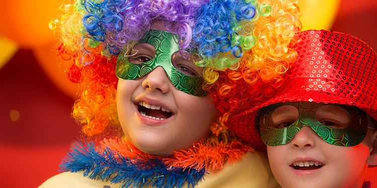 Kinder an Fasching – die verschiedenen Möglichkeiten