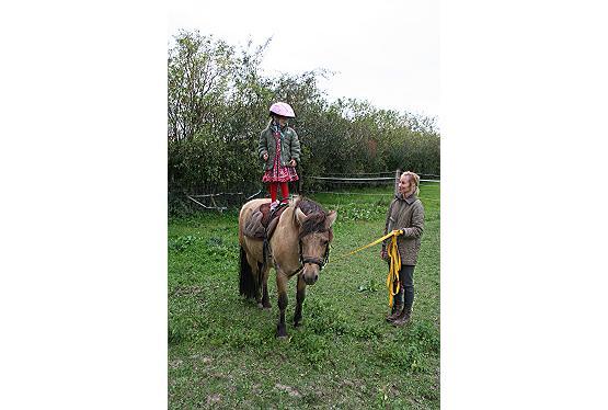 Geburtstagswunsch Ponyreiten
